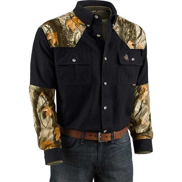 5e55b4a6806e Legendary Whitetails Men's God's Country Camo Button Down. Click  to Zoom