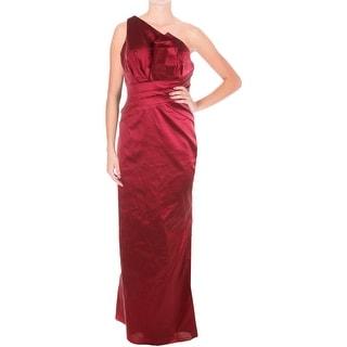 Aidan Mattox Womens One Shoulder Prom Evening Dress