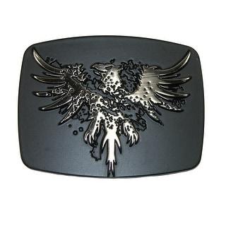 Chrome Phoenix Belt Buckle - One size