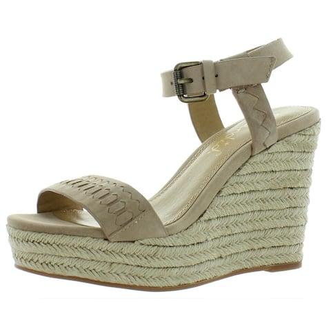 Splendid Womens Espadrilles Leather Ankle Strap - None listed - 6 Medium (B,M)