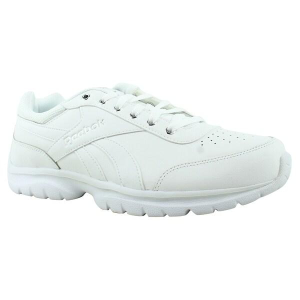 d4acca139998 Shop Reebok Womens Royal Lumina Pace White Walking Shoes Size 11 ...