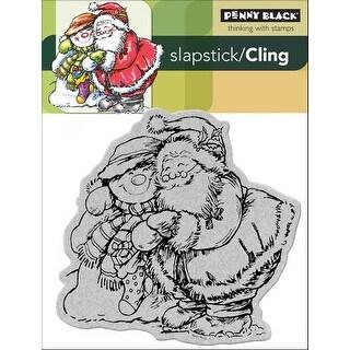 "Penny Black Cling Stamp 4""X5""-Holiday Hug"