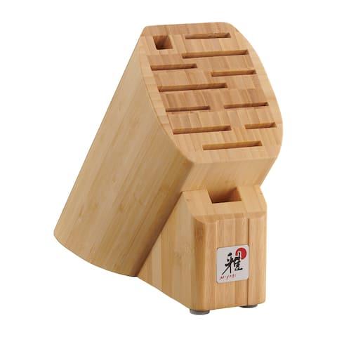 Miyabi 12-slot Bamboo Knife Block