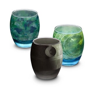 Star Wars Planetary Glass Set of 6 - Multi
