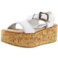 Sbicca Lolana Women's T-Strap Cork Wedge Sandals