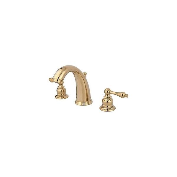 Shop Elements Of Design Eb98al Brass 12 Gpm Widespread Bathroom