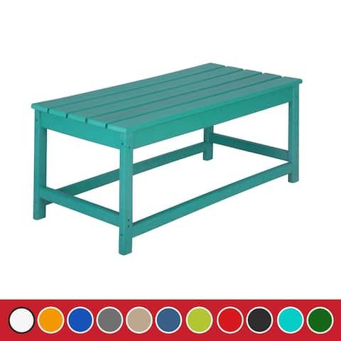 Laguna 35-inch Outdoor Poly Patio Coffee Table