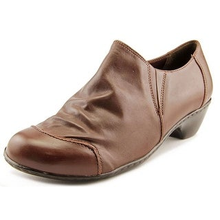 Walking Cradles Cloud W Round Toe Leather Loafer