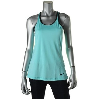 Nike Womens Racerback Perforated Tank Top - S