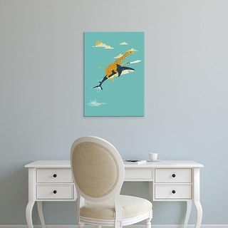 Easy Art Prints Jay Fleck's 'Onward!' Premium Canvas Art
