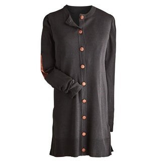 Women's Dartmouth Long Cardigan - Button Down Sweater