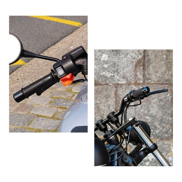 Universal Motorcycle Handlebar Grip Brake lever Security Bike Lock Anti Theft