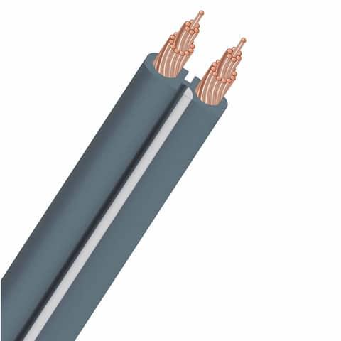 AudioQuest X2 Unterminated Gray Speaker Cable - 50 ft. (15.24m)