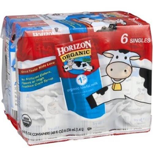 Horizon Organic Dairy - 1% Milk ( 18 - 8 FZ)
