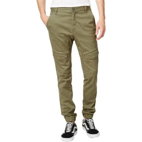 American Rag Mens Stretch Utility Casual Jogger Pants, green, 40W x 32L - 40W x 32L