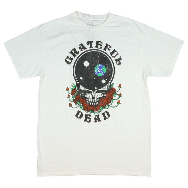 6c5078e64 Shop Men's Grateful Dead Tshirt Steal Your Face Empty Space Skull And Roses  Distressed T-Shirt - Free Shipping On Orders Over $45 - Overstock - 24265862