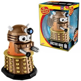 Doctor Who Gold Dalek Mr. Potato Head Figure