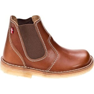 Duckfeet Roskilde Chelsea Boot - cocoa/red leather