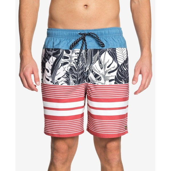 0f2871e226 Quiksilver Mens Size XL Jungle Thinking Parisian Board Surf Shorts