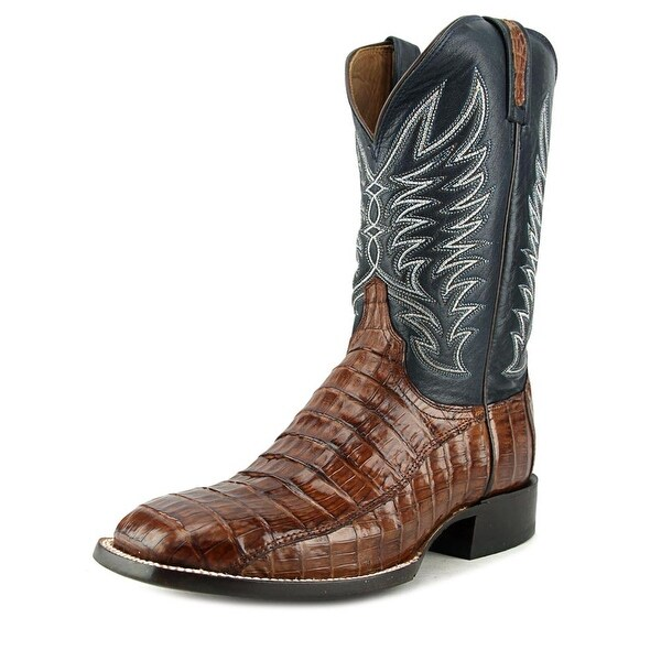 Lucchese M2664 Square Toe Leather Western Boot