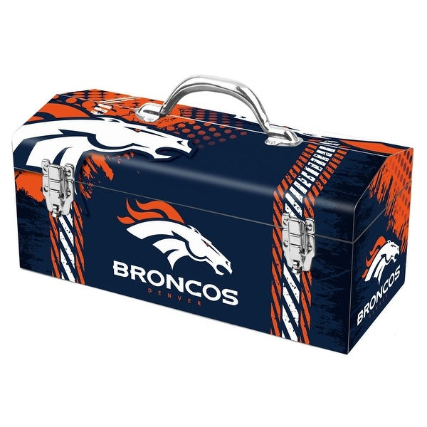 Sainty International 79-310 Denver Broncos Art Deco Tool Box