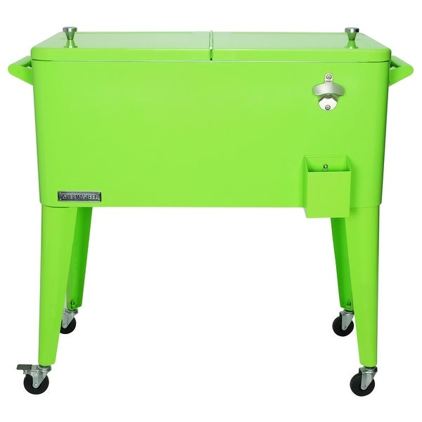 Permasteel 80 Qt. Patio Cooler, Lime