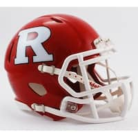 Rutgers Riddell Speed Mini Football Helmet