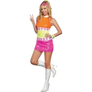 60's Flower Power Adult Costume