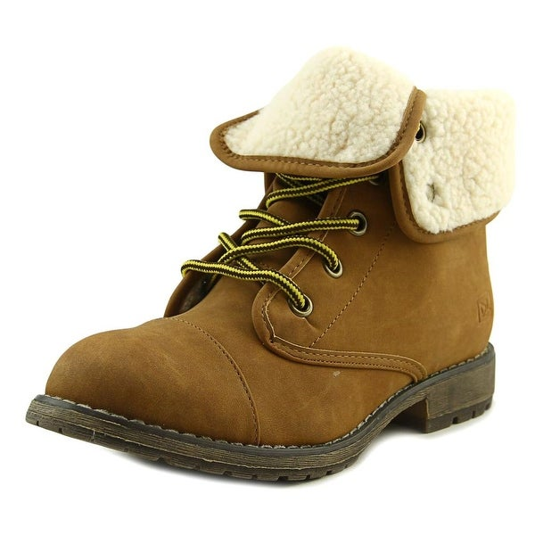 Dirty Laundry Rockwell Women Cap Toe Synthetic Tan Boot
