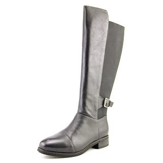 Softwalk Mission Women W Round Toe Leather Knee High Boot