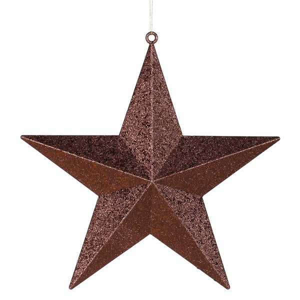 "20"" Chocolate Glitter Star"