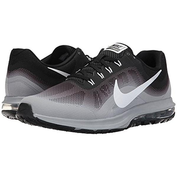 f511cd69f1e Shop Nike Air Max Dynasty 2 Black White Wolf Grey Men s Running ...