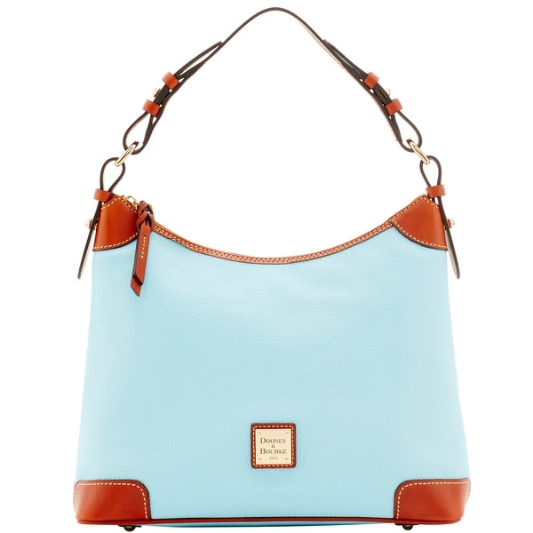 Dooney & Bourke Pebble Grain Hobo (Introduced by Dooney & Bourke at $228 in Apr 2016) - Pale Blue