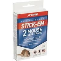 JT EATON 2Pk Glue Mouse Trap 233N Unit: PKG