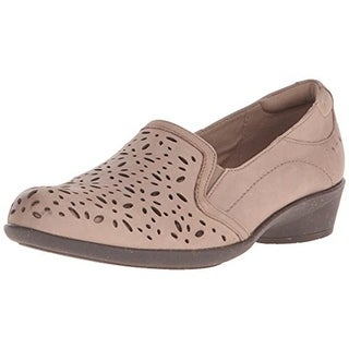 Cobb Hill Womens Nina Leather Cut-Out Loafers - 10 narrow (aa,n)