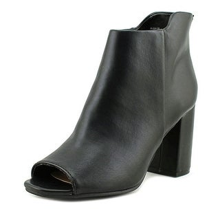 Seven Dials Womens Tinsley Peep Toe Ankle Fashion Boots Fashion Boots