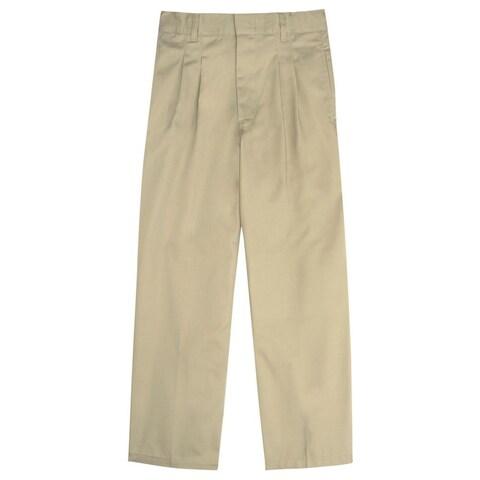 French Toast Boys 8-20 Adjustable Waist Pleated School Pant