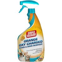 Orange Oxy Charged -Simple Solution Orange Oxy Charged Stain & Odor Remover 32Oz