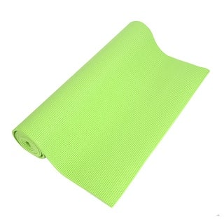 0.2   Thick Nonslip Sponge Yoga Mat Fitness Exercise Green