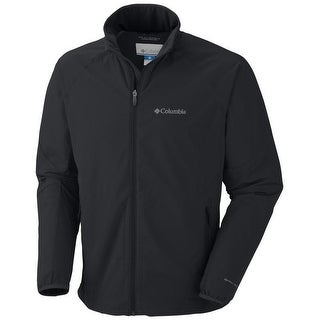 Columbia Men's Sweet As Softshell - Omni-Shield Water-repellent Double-weave - Black - XXL