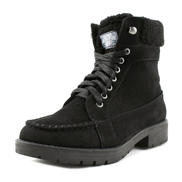 Nautica Thunder Bay Women Black Snow Boots
