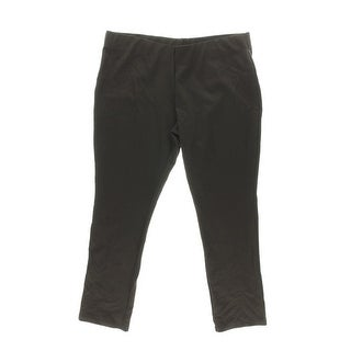 Lauren Ralph Lauren Womens Stretch Solid Casual Pants - XL