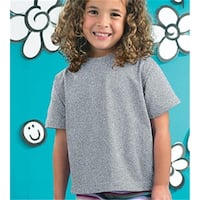 Rabbit Skins 3301T Toddler T-Shirt, Heather, 4T