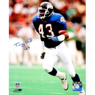 Terry Kinard New York Giants Action 8x10 Photo