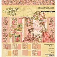 "Graphic 45 Double-Sided Paper Pad 8""X8"" 24/Pkg-Princess, 8 Designs/3 Each"