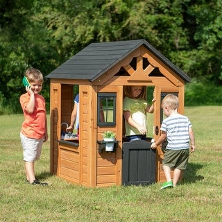 Link to Backyard Discovery Sweetwater Wooden Playhouse Similar Items in Play Sets