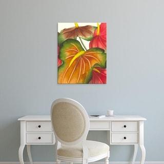 Easy Art Prints Jason Higby's 'Anthuria I' Premium Canvas Art