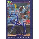Reggie Jefferson Cleveland Indians 1992 Classic Autographed Card  This item comes with a certificat