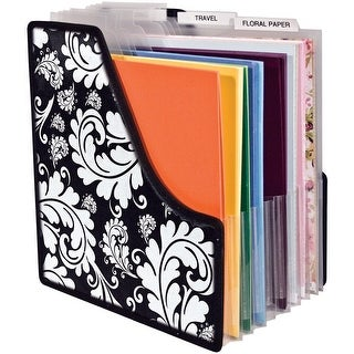 """Storage Studio Projections Expandable Paper Holder-13.5""""X14.25""""X1"""", Expands To 9"""""""