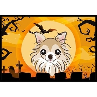 Carolines Treasures BB1809JMAT Halloween Chihuahua Indoor & Outdoor Mat 24 x 36 in.